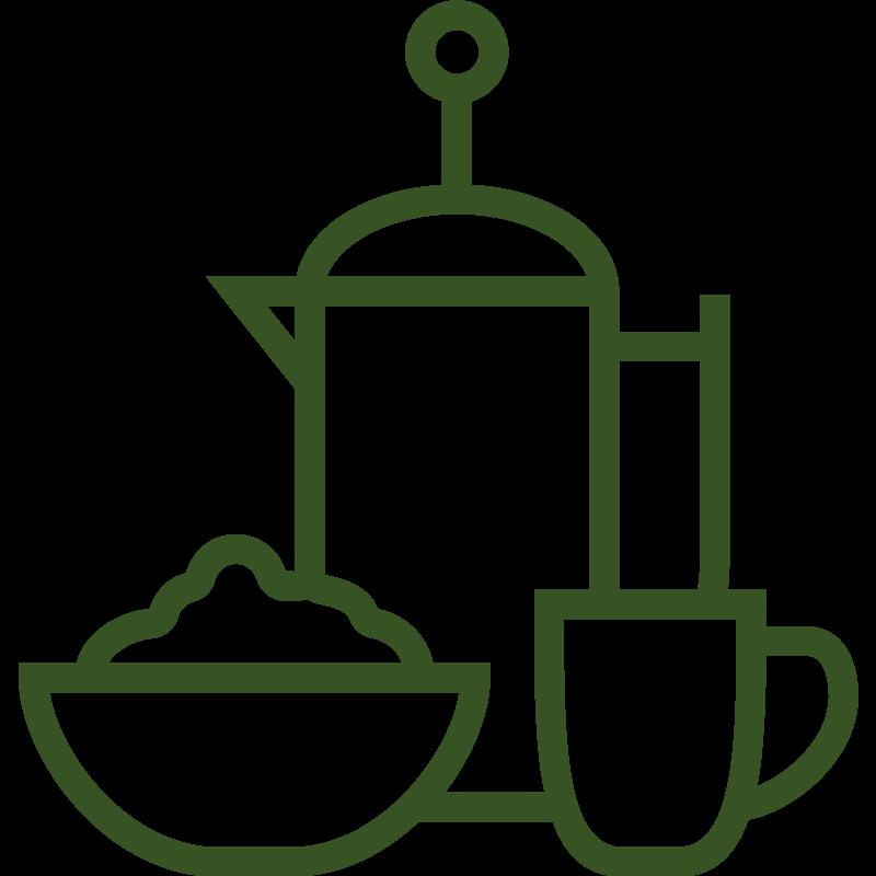 Ontbijt met lokale en fairtrade producten